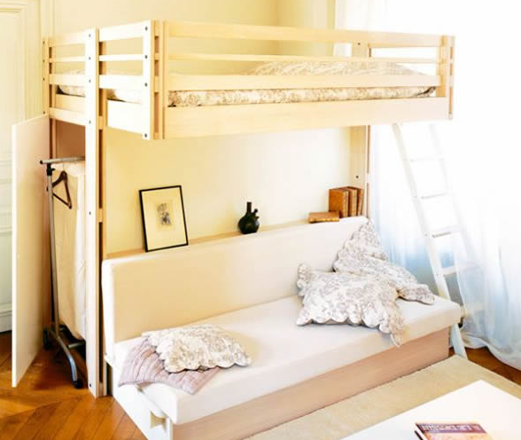 Bunk bed designs for small house