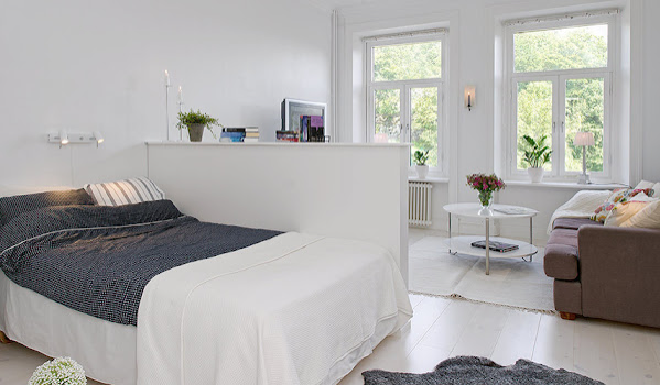 . How to divide one room into two rooms   Small House Design