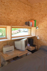 Le Cabanon home office design