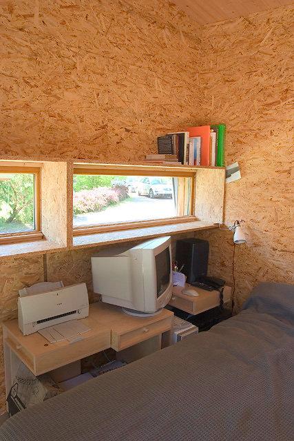 Le Cabanon home office design