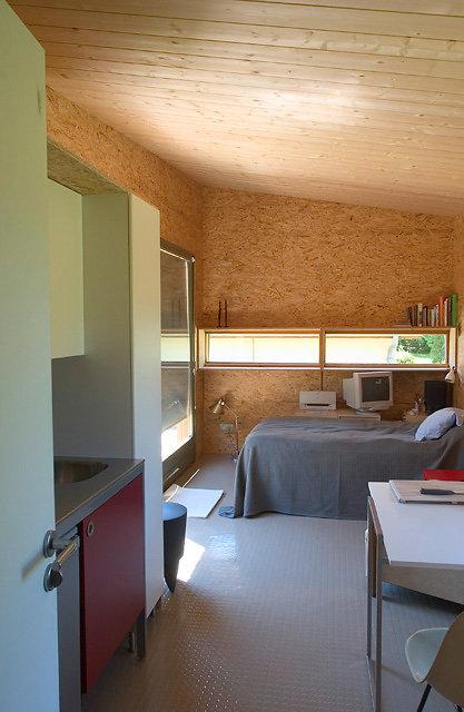Le Cabanon living room design