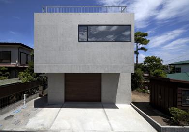 Modern small garage house design
