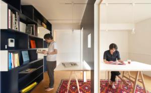 Movable room divider