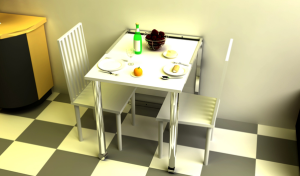 Multifunction dining table