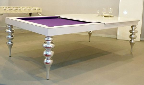 Multifunction pool table