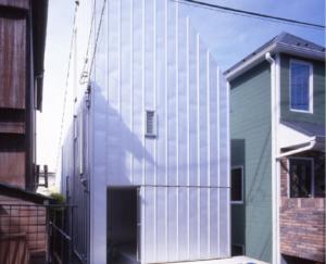 Nakaikegami small japanese house design