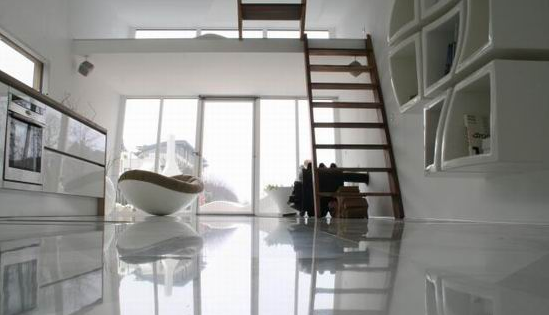 Silberfisch living room design