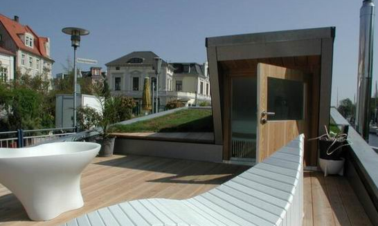 Silberfisch roof deck design