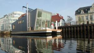 Silberfisch small houseboats design