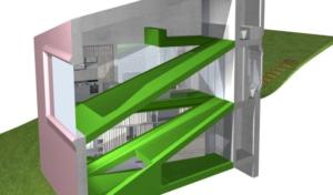 Villa Hermina - compact house interior plan