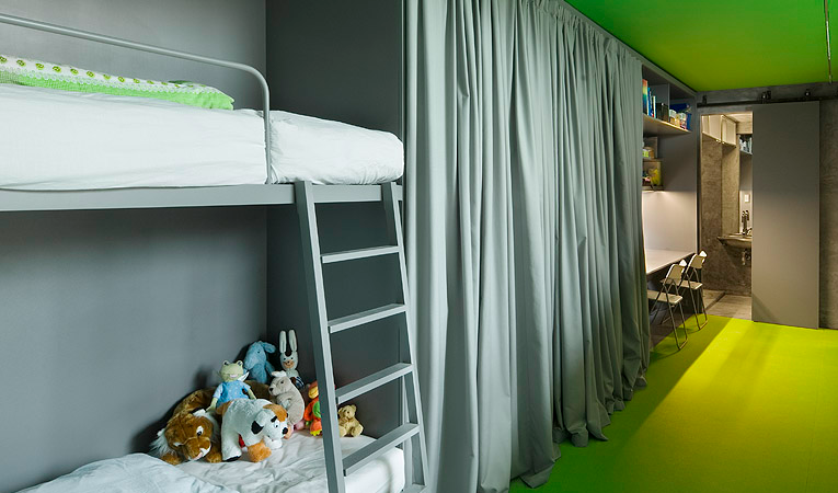 Villa Hermina kids room design