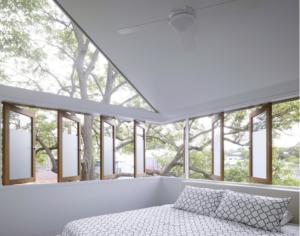 White small bedroom design