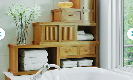 bathroom stock cabinets