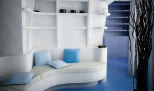 built in sofa