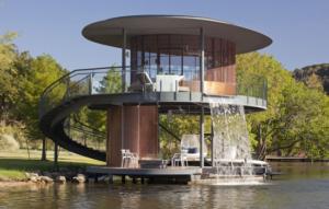 circular boat house design