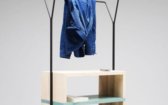 dual function clothing rack