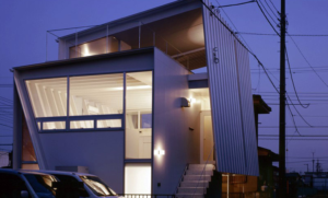 fold house in japan