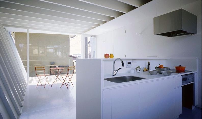 fold house kitchen design
