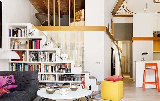 How to store books in a small house 6 creative ideas for Small house design books