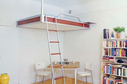 loft bed designs for small house