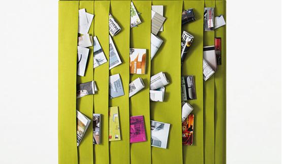 magazine room divider