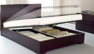 modern bed storage