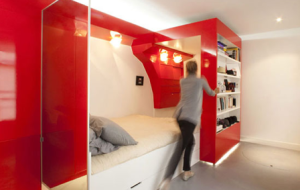 movable wall storage