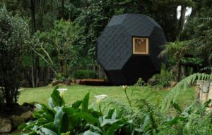 pod home in the garden