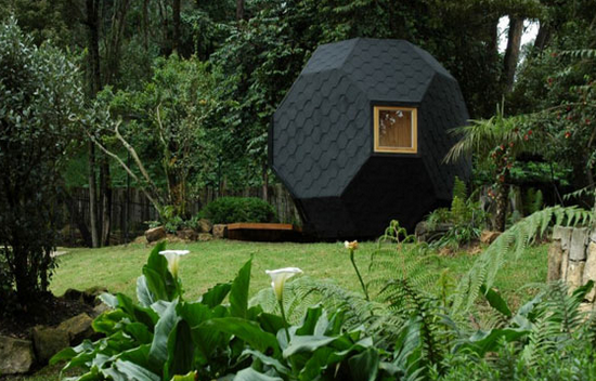 pod home in the garden