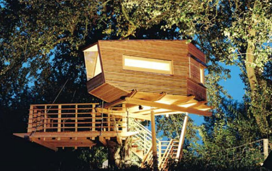 pod tree house design 1