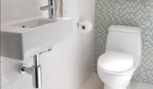 relocating the position of toilet
