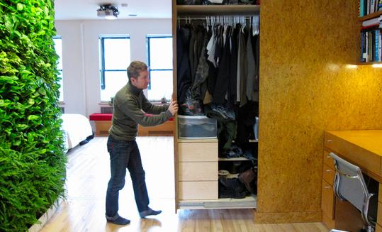 rolling wardrobe closet