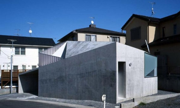 small concrete house design