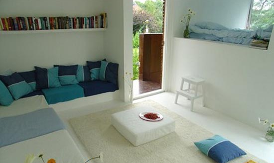 small house great room design