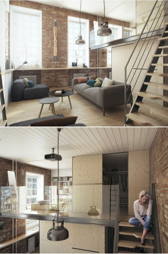 Small House With Loft Designs – 10 Ideas
