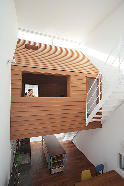 Small house with loft designs - 10 ideas | Small House Design