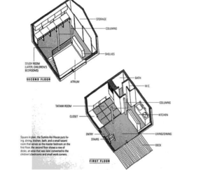 small japanese house design plans