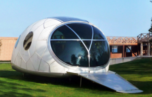 solar powered pod house 1