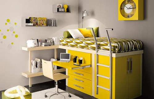 stylish loft beds
