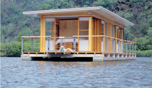Arkiboat small houseboats design