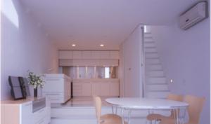 Nakaikegami living room design
