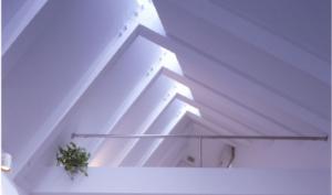 Nakaikegami roof design