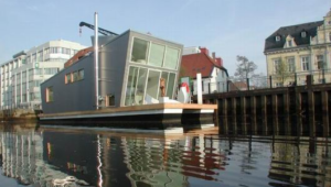 Silberfisch small houseboats design