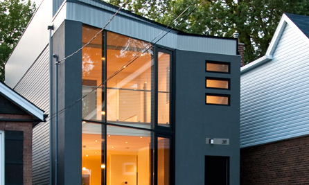 Small ecological house design