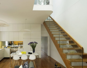 White small living room design