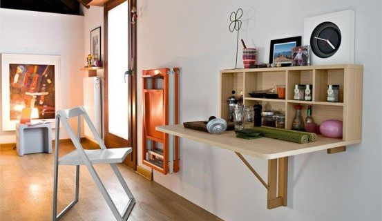Fold Down Tables
