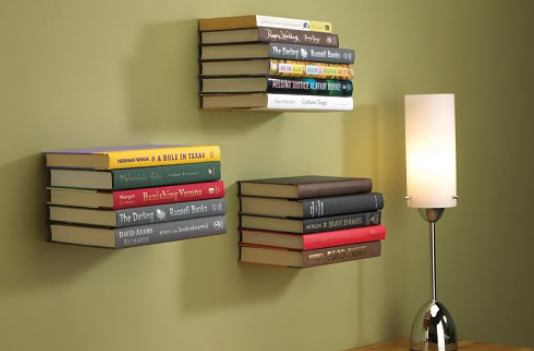 How to store books in a small house – 6 creative ideas