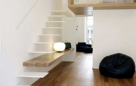 6 loft stairs for small space designs small house design - Small space staircase ideas concept ...