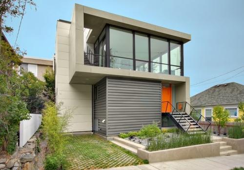Modern 2 storey house design