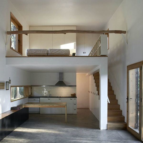Small House Loft Home Desain 2018